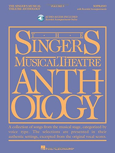 Singer's Musical Theatre Anthology, Vol. 5: Soprano Book