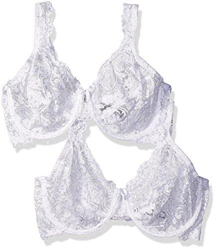 f3cb3f3847 Jual Smart+Sexy Women s Signature Lace Unlined Underwire Bra 2 Pack ...