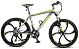 Merax MS008700FAA Finiss 26' Aluminum 21 Speed Mg Alloy Wheel Mountain Bike