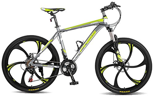 "Merax MS008700FAA Finiss 26"" Aluminum 21 Speed Mg Alloy Whee"