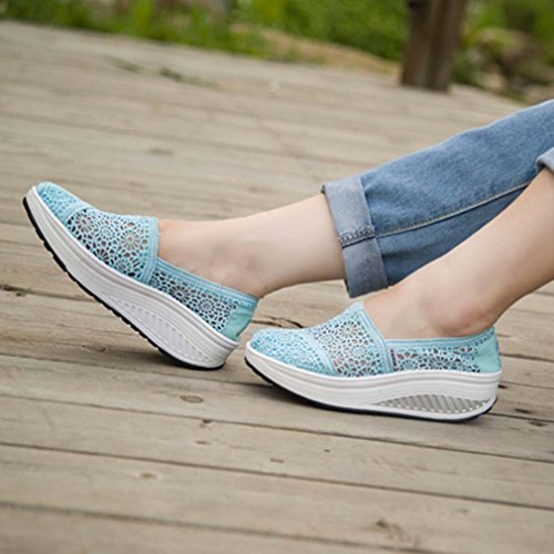 blu Sneaker Solshine donna Solshine Blu Sneaker 7fvqHf0