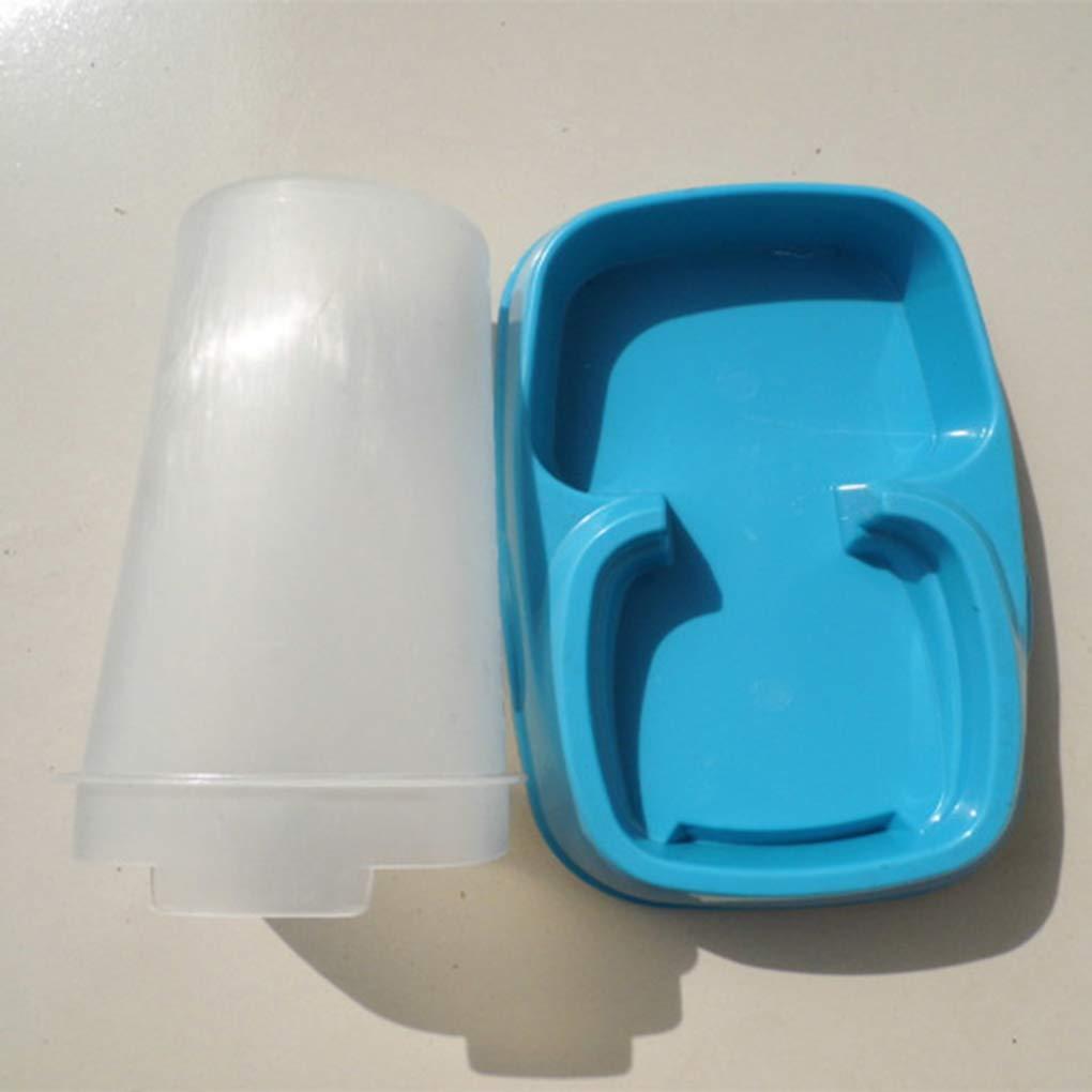 Mengonee De plástico PET de agua automático dispensador alimentador de gran capacidad del perro del gato auto-dispensador de alimentos bowl: Amazon.es: Ropa ...