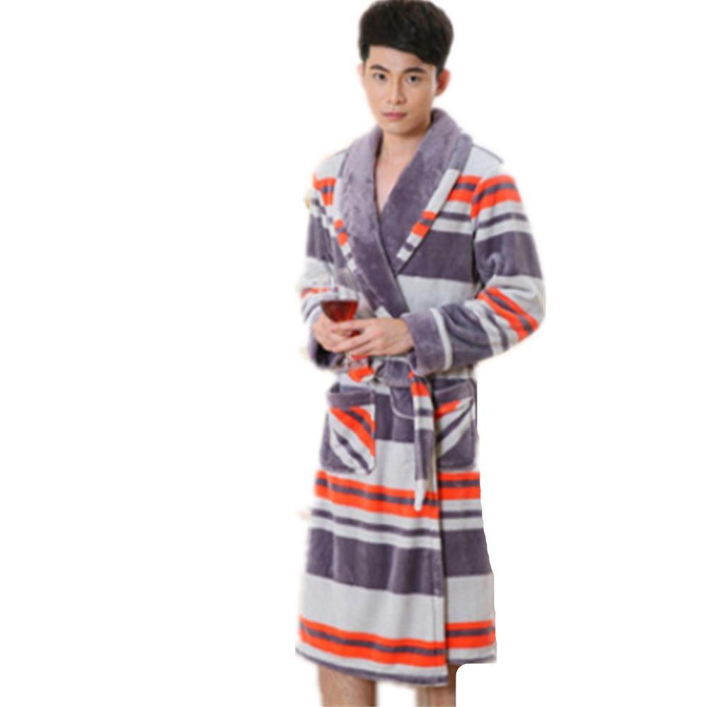 DMMSS Women 's camicia da notte lunga Flannel Pajamas autunno e inverno accappatoi corallo velluto da notte degli indumenti da notte , 2 , s