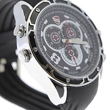 Yatek Reloj con cámara espía 1080p R-2, con visión Nocturna, 8GBs y Correa de Goma Resistente y cómoda: Amazon.es: Electrónica