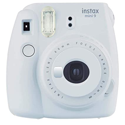 Fujifilm Cámara Instantánea Instax Mini 9, Color Blanco Humo  Amazon ... 2bbfb49cdc