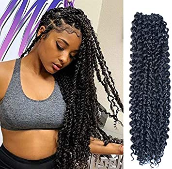 Amazoncom 6pcs Passion Twist Hair 18 Inch Long Bohemian Braids