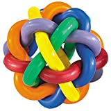 Cheap Hard Rubber Dog Toy Knobbly Wobbly Small 3 Inch Tough Chew Toys for Rough Dogs Colors Vary