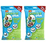 Kalencom Potette Plus Liners - 30 Liners Pack of 2