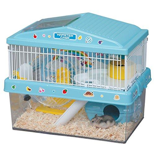 IRIS Playhouse Hamster Cage, Blue