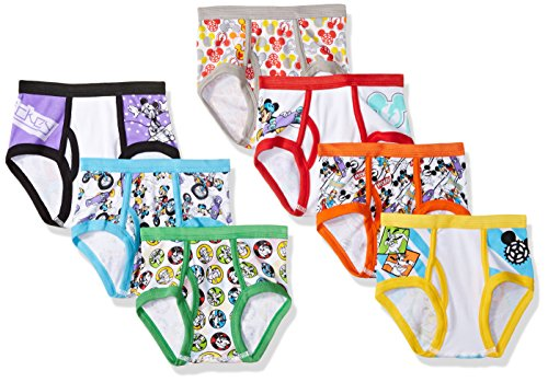 Disney Little Mickey Briefs Assorted