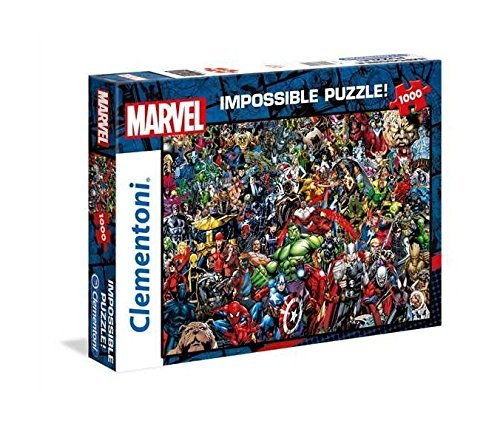 Marvel Heroes The Impossible 1000 Piece Professional Collection Puzzle Ages 14+ by Marvel