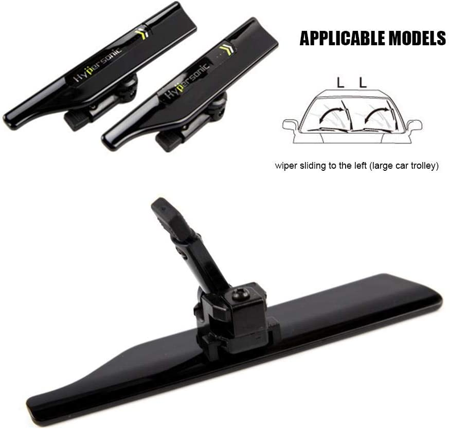IMCROWN Car Wiper Pressure Top,Car Accessories Black Wiper Protector HP-6440 Wiper Stands Can Adjust The Height for Extend The Service Life of The Wiper