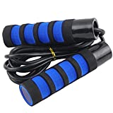 Jump Rope Skipping Rope for Women Jumping Rope Jump Ropes Weighted Jump Rope for Women Crossfit Jump Rope Jumpropes for Adults Fitness Ropes Boxing Jump Rope Skipping Ropes Fitness - 12.14ft