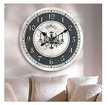 nice looking modern wall clocks amazon. Country Wall Clocks Large Decorative Modern  Luxury Clock Amazon com