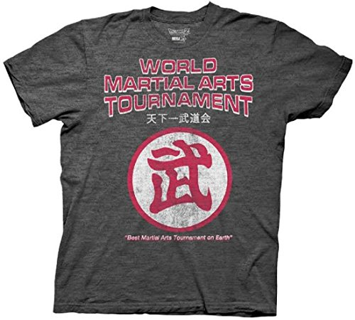 Dragon Ball Z World Martial Arts Tournament Logo Adult T-Shirt (Small) Dragon Ball Z Fan Art