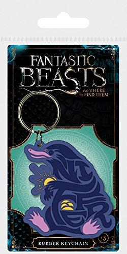 Key chain Fantastic Beasts - Llavero de Goma Niffler: Amazon ...