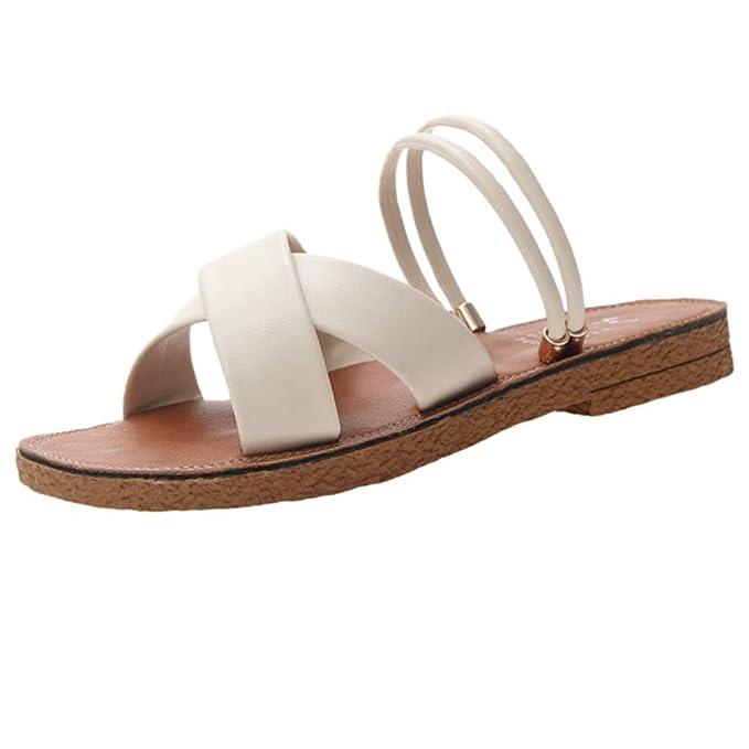 Amazon.com: Zapatillas planas para niñas Fapizi con puntera ...