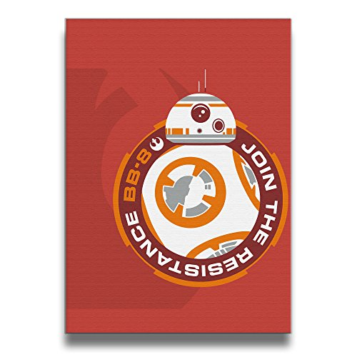[Star Wars BB8 Art Print Wall Picture One Size 16
