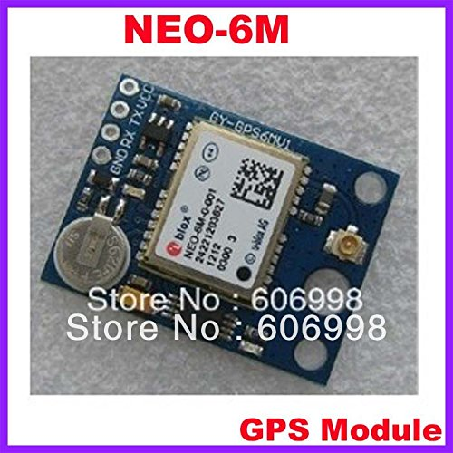 SYEX 10pcs/lot GPS APM2.5 NEO-6M Module With EEPROM To Save Data With Active Antenna