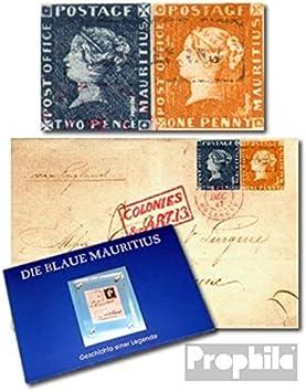 Prophila Collection Mauricio Mauricio Folder con Burdeos-Carta (Sellos para los coleccionistas): Amazon.es: Juguetes y juegos