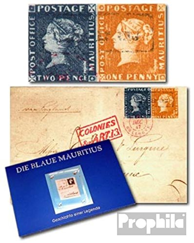 Mauritius Mauritius Folder with Bordeaux-Letters (Stamps for Collectors)