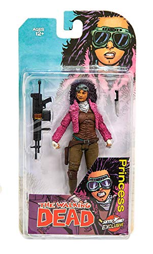 Walking Dead The 6 Inch Action Figure Comic Series - Princess Colored Version