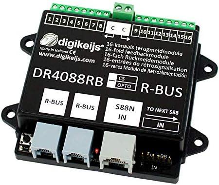 Digikeijs DR4088RB-OPTO 16-Fach R/ückmeldemodul R-Bus?