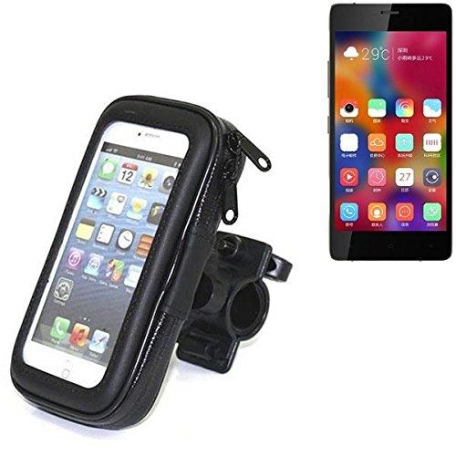 Montaje de la bici para Gionee Elife S7, montaje del manillar para smartphones / teléfonos móviles, de aplicación universal. Conveniente para la bicicleta, motocicleta, quad, moto, etc. repelente al a