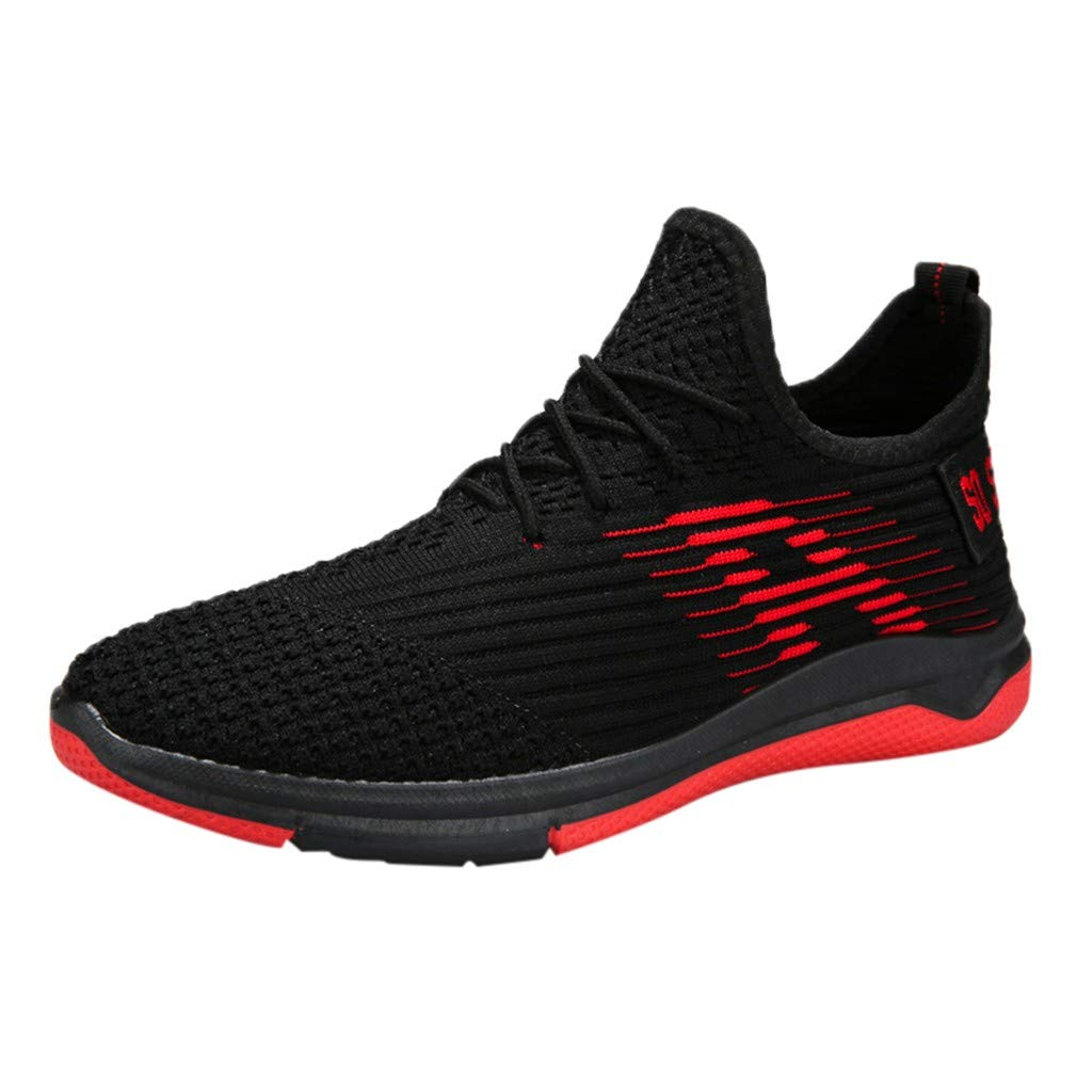 8bb1ce3fb8ad Amazon.com: Men's Running Shoes, ANKOLA Lightweight Breathable ...