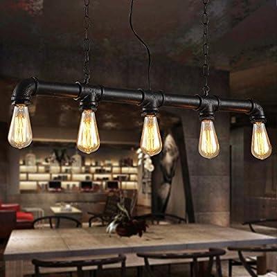 Ultra Edison Lounge bar café ampoule lustres retro lustres de tuyaux de NF-48