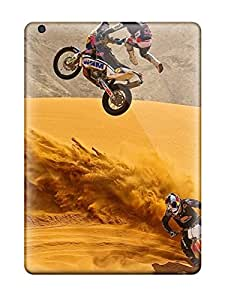 Rugged Skin Case Cover For Ipad Air- Eco-friendly Packaging(motorcycle Vehicles Cars Other)