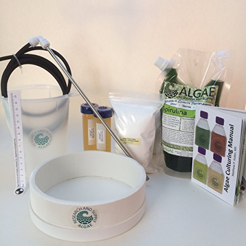 Algae Research Supply Spirulina Farming Kit, Perfect for School Science Fairs/Projects, Experiments & Classrooms (Spirulina Sticks)