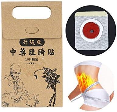 Kasla 10 Stück Potent Slimming Paste Sticker Skinny Waist Belly Fat Burning Patch Traditionelle Chinesische Medizin Slimming Patch