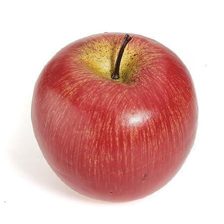 cocina decoraci/ón tienda decoraci/ón /2,7/x 3/x 2,7/& rojo y verde/ /fruta Artificial Pl/ástico de profundidad rojo manzanas para Still Life Paintings Juego de 6/Artificial Fruta Manzanas/