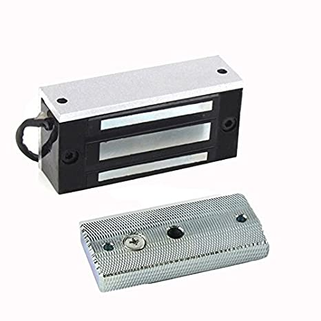 Magnetic Lock 60kg,130 LBs Strong Holding Force DC 12V Electromagnetic Lock  Door Access Control