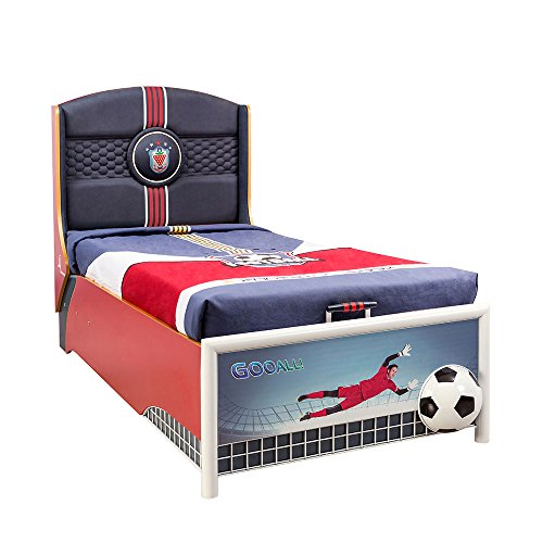 Cilek Kids Room Soccer Collection, Storage Bed with Mattress by Cilek Kids Room