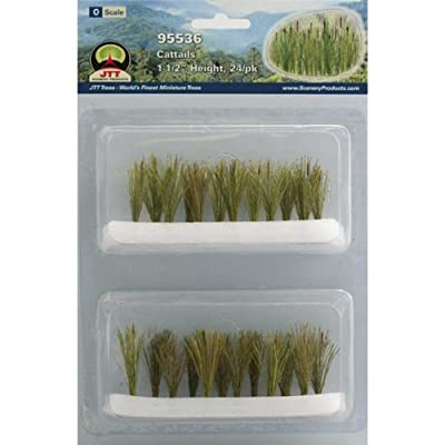 JTT Scenery Products Gardening Plants Cattails O Scale Hobby Train Sceneries: Toys & Games