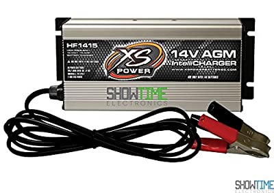 XS Power HF1415 14V 15 Amp High Frequency AGM IntelliCharger