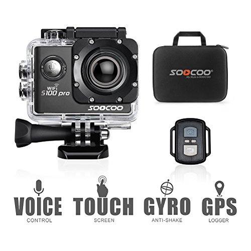 4k Sports Action Camera,SOOCOO C30R Action Camera Waterproof 20MP 170 Degree Wide Angle Sports Video Camera 2 inch LCD Screen/2.4G Remote Control/2 Batteries-Silver(Micro SD Card Not Included) Shenzhen Discovery Technology co., LTD