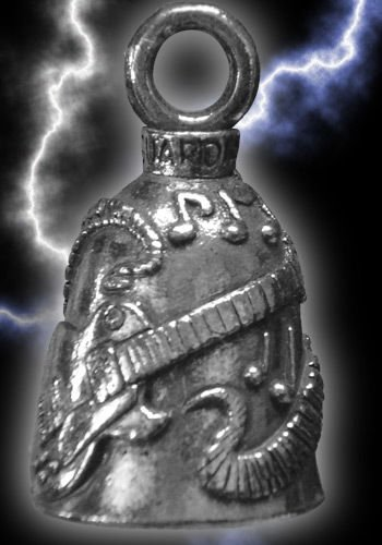 Guardian Bell Guitar Lucky Charm Pendant Accessory For Motorcycles