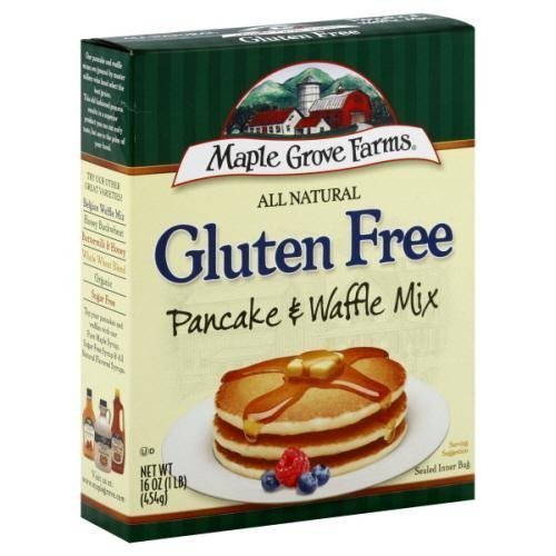 (Maple Grove Farms Natural Pancake and Waffle Mix, 16 Ounce -- 8 per case. by Maple Grove Farms)