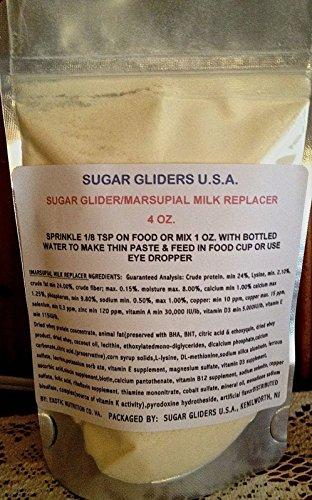 SUGAR GLIDER/MARSUPIAL MILK REPLACER 4 - Formula Sugar Glider