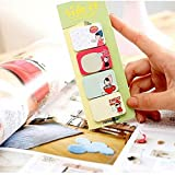 ARCTURUS 5PCS Classic Stationary Side Sticker Memo Pad Sticky Notes Office School Supply TBCA