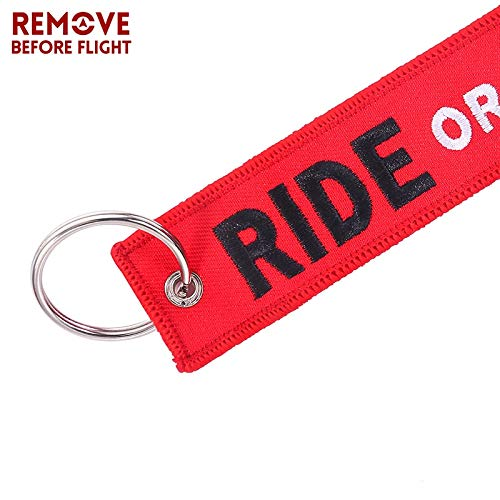 Amazon.com : Key Rings Remove Before Flight Motorcycles and ...