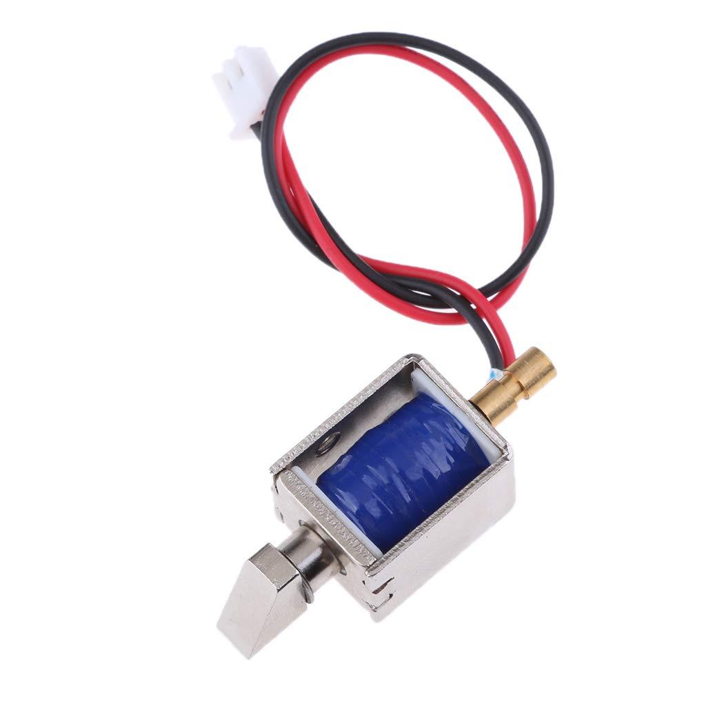 KESOTO DC12V 0.43A Mini Small Electric Bolt Magnetic Solenoid Lock Push-Pull Cabinet Door Locks