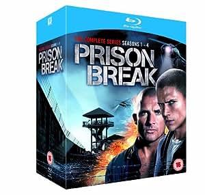 Prison Break: Complete Season 1-4 [Blu-ray] [Import]