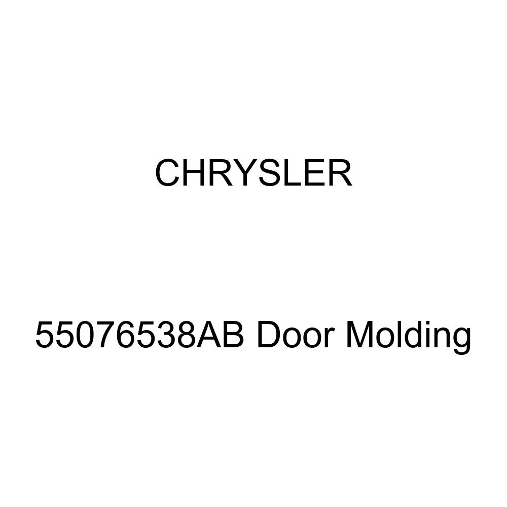 Genuine Chrysler 55076538AB Door Molding