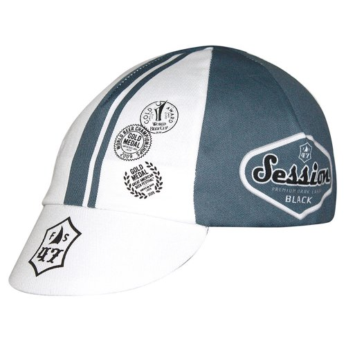 Pace Sessions Traditional Cap -Black (Color:White/Grey)