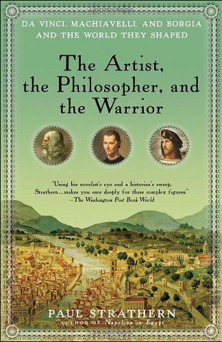 Book cover for The Artist, the Philosopher, and the Warrior