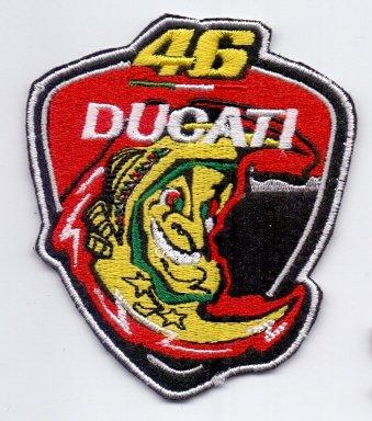 /Écusson brod/é Ecussons Thermocollants Broderie Sur Vetement Ecusson  DUCATI 46 Logos F1 Moto GP /& Sponsors